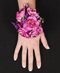 Carnations & Ribbon Corsage