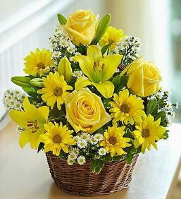 Yellow Mix Basket