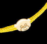 OC Kids Multi-Colored String Bracelet with 18K Gold Designs