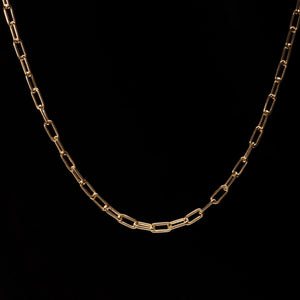 OC Symbols 18K Yellow Gold Cartier Chain
