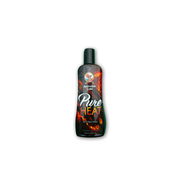 Australian Gold/Pure Heat Citrus Tingle Bronzing Lotion 250ml