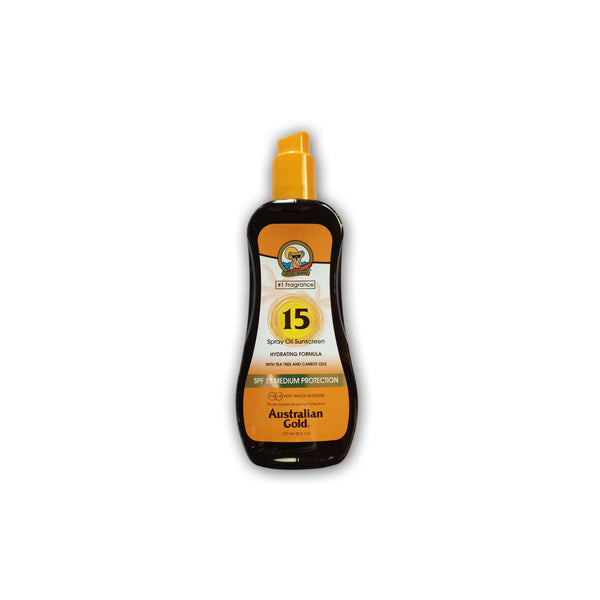 Australian Gold/SPF 15 Spray Oil Sunscreen 237ml