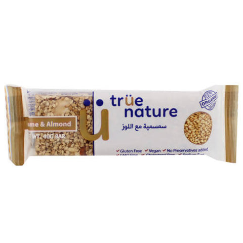 Organic Sesame & Almonds Bar 40 gr
