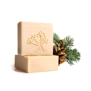 Pine Tones Skin Luxury Item Virgin Oil soap
