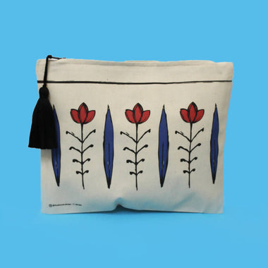 shaffe Bleu Pouch - Tote Bag