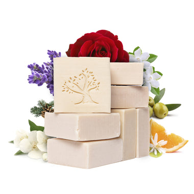 gardenia rose lavender orange citrus fresh jasmine pine luxury soap bath bar bathing shampoo lebanese Aleppo