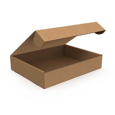 Standard Delivery Box Medium Low, Kraft (Bundle of 15 pcs)