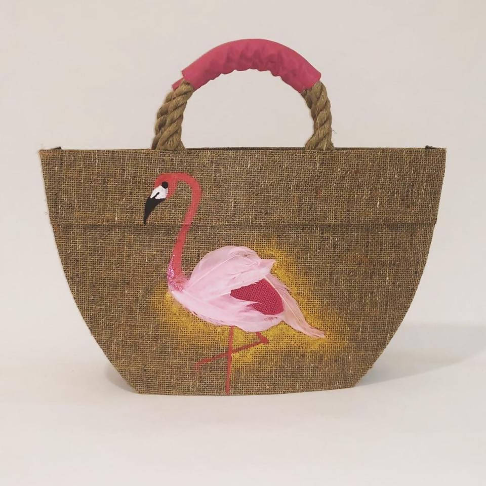 Beach Bag - Flamingo