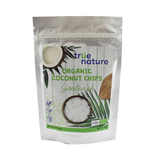 Organic Sweetened Coconut Chips 40 gr
