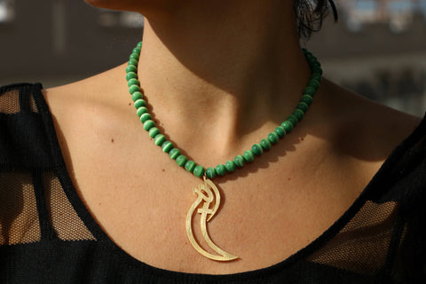 """The One"" Necklace by Dina B."
