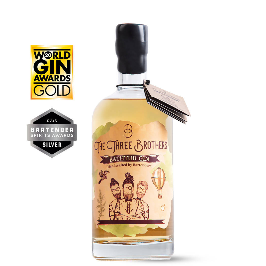 The Three Brothers Bathtub Gin