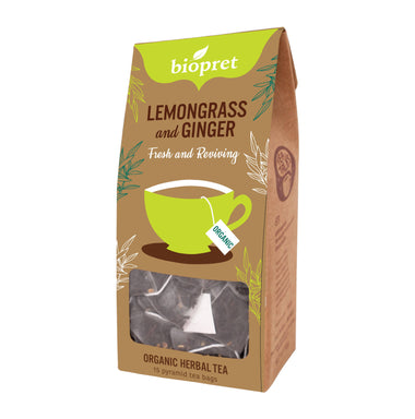 Organic Lemongrass ginger