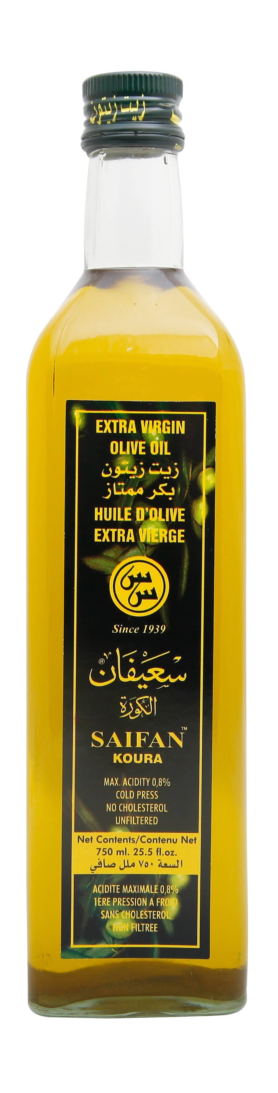 SAIFAN PREMIUM EXTRA VIRGIN OLIVE OIL 750 ML