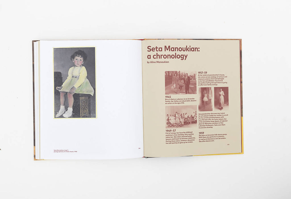 Seta Manoukian: Painting in Levitation