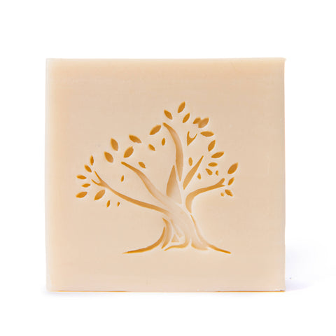 hand stamped luxury soap