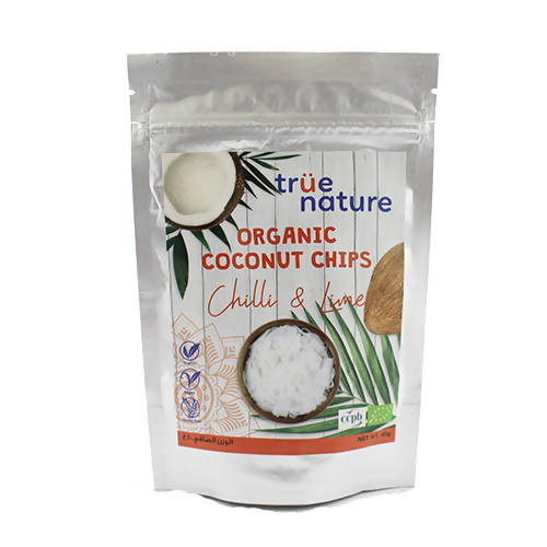 Organic Chili & Lime Coconut Chips 40 gr