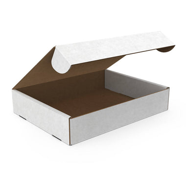 Standard Delivery Box Medium Low, White (Bundle of 15 pcs)