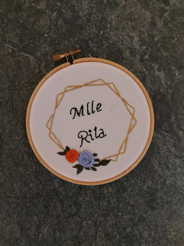 Embroidered Hoop