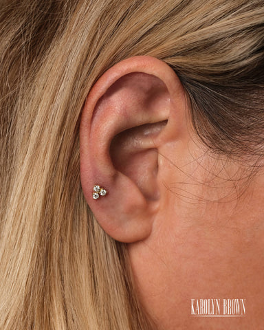 Betty White Diamond - Piercing - Karolyn Brown Jewelry