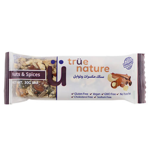 organic Nuts & spices Bar 30 gr