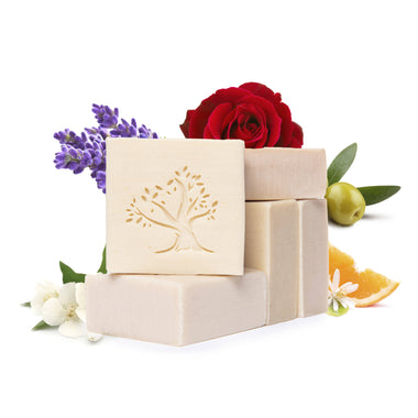 lavender rose olive orange citrus luxury soap lebanese aleppo jasmine gardenia face body wash