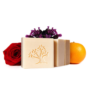 lavender rose orange citrus luxury soap shampoo bath bar bathing lebanese artisanal ancestral