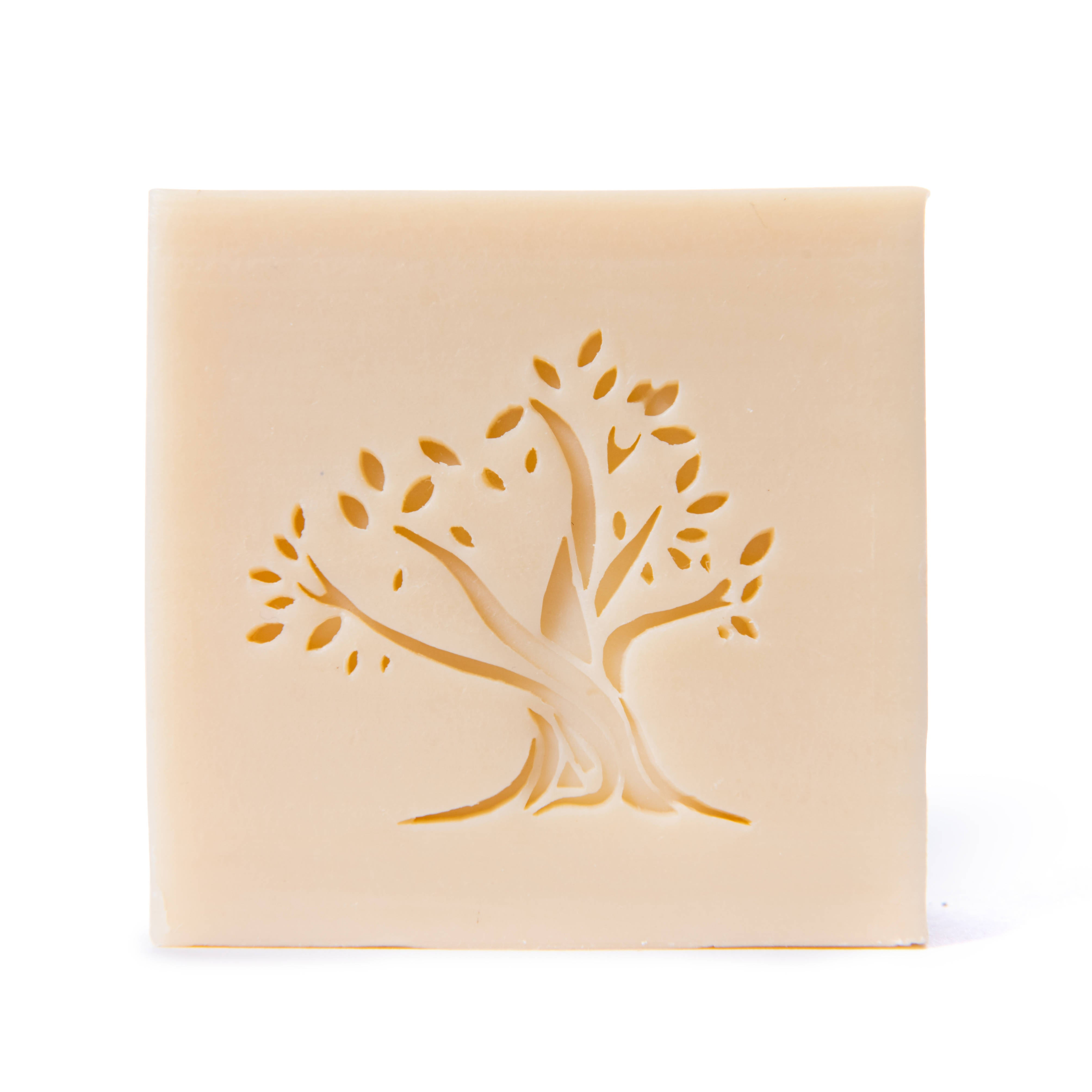 Handcrafted Handmade Hand Stamped artisanal soap ancestral recipe