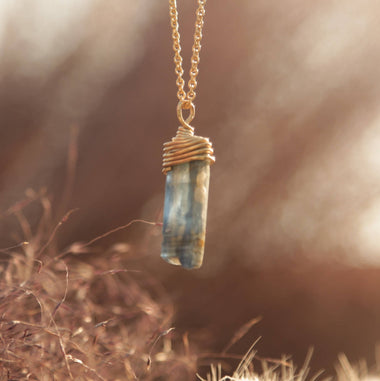 Kyanite necklace
