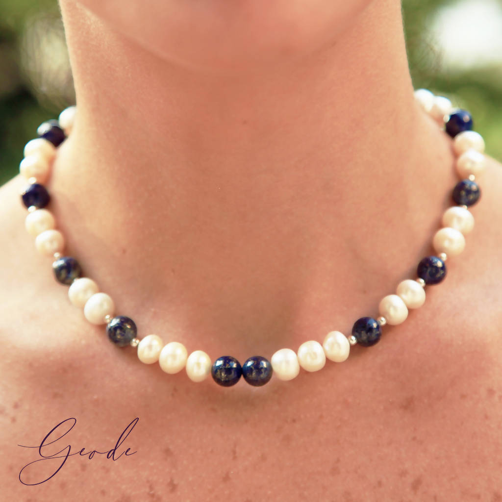 Le Collier - Geode Gems