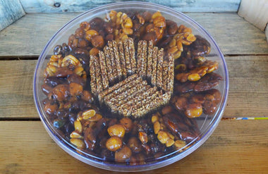 Sugary Mixed nuts plate 515g -
