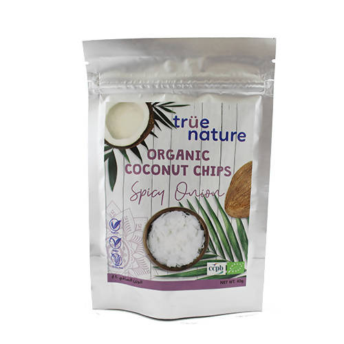 Organic Spicy Onion Coconut Chips 40 gr