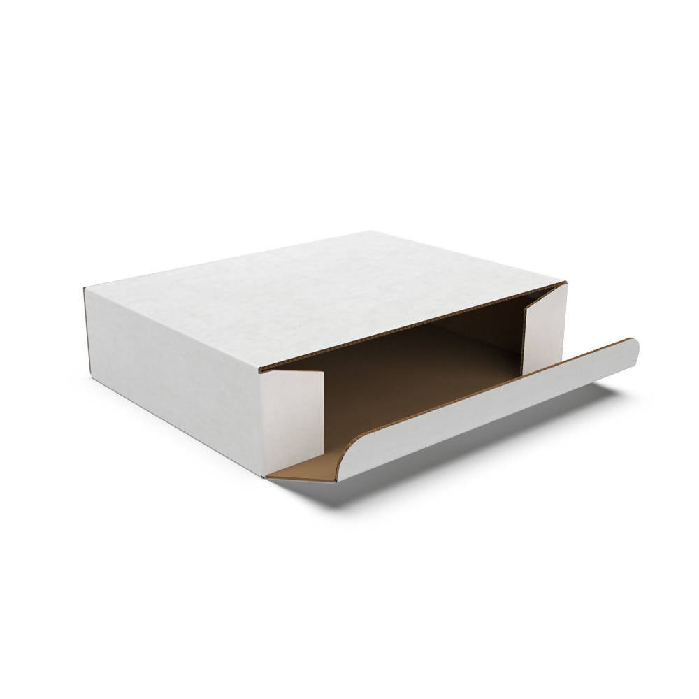 Side Loading Delivery Box Small, White (Bundle of 25 pcs)