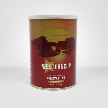THE WESTERN CUP filter coffee 300g can