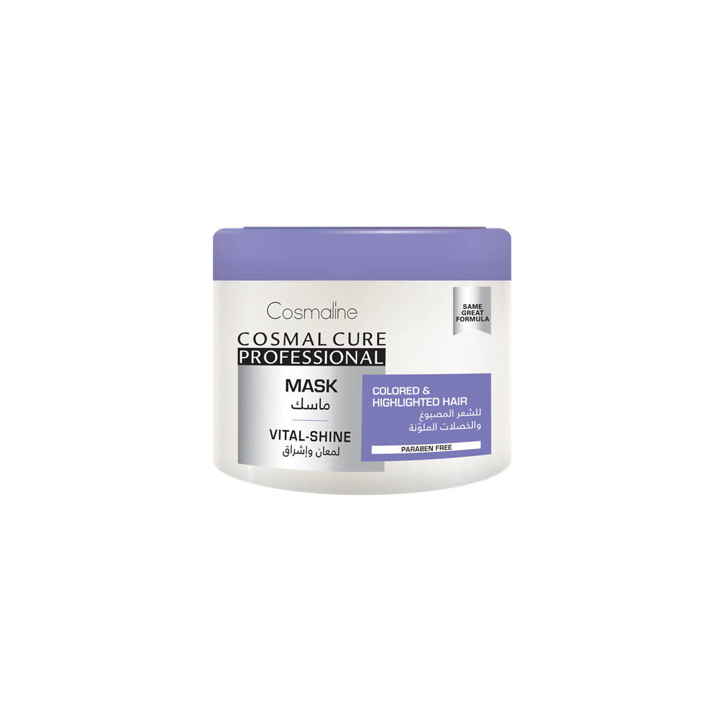 COSMAL CURE PROFESSIONAL MASK - VITAL-SHINE - 450ML