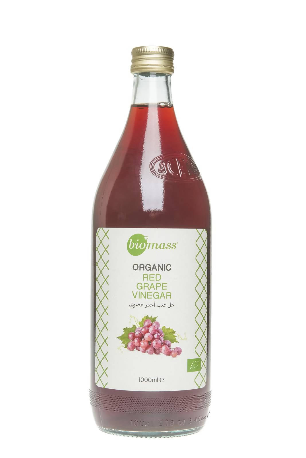 Organic Red Grape Vinegar (Bottle - 1000 ml)