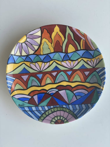 Copy of Mandala Dessert plates