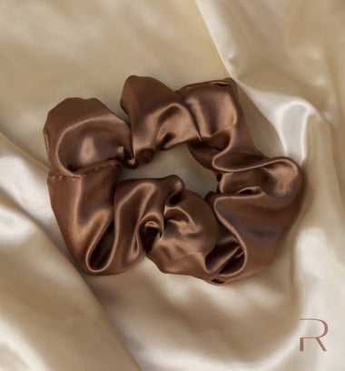 """Confident"" Satin Scrunchie"