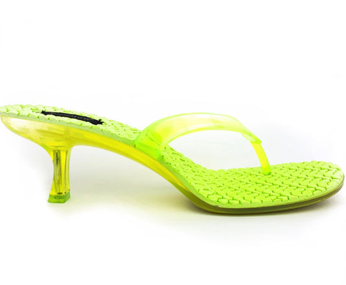 Jelly mule|Lime green