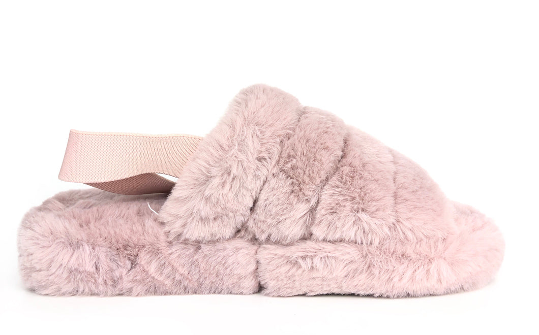 Bella Slippers|Blush