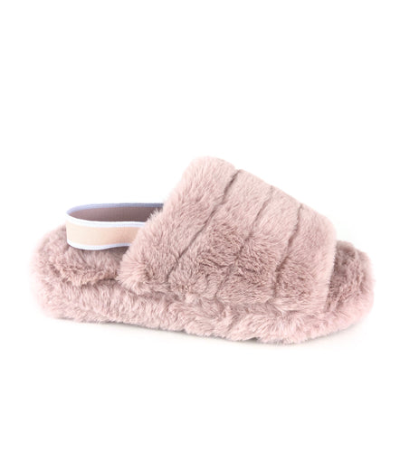 Bella slippers|Kids Blush