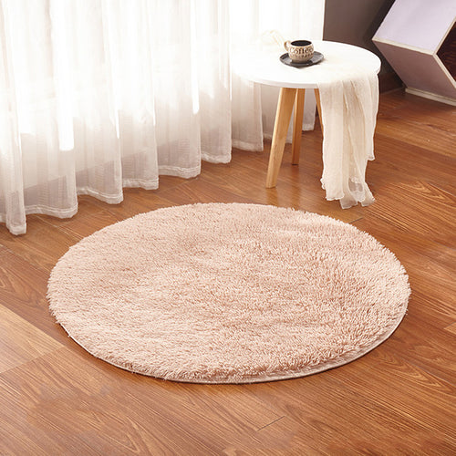 Karpet Bulat Faux Fur