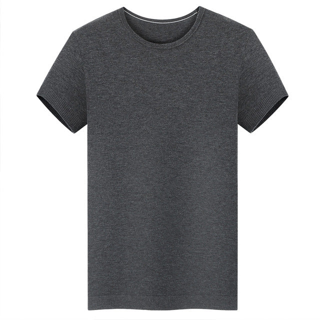 Light Quality 150GSM 100% Australia Merino Wool Mens Short Sleeve T Shirt, Light Merino Wool T Shirt For Summer, Europe