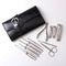 Manicure Set Stainless Nail Clipper Kit Nail Cutter Scissors Tweezers Cuticle Grooming Kit Utility Nail Art Tools Set