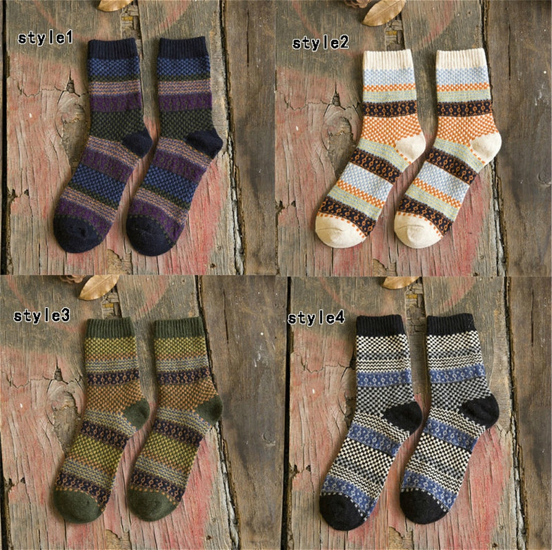 Socks Winter Wool Warm For Men | Chaussette Hiver Homme 1 Pairs