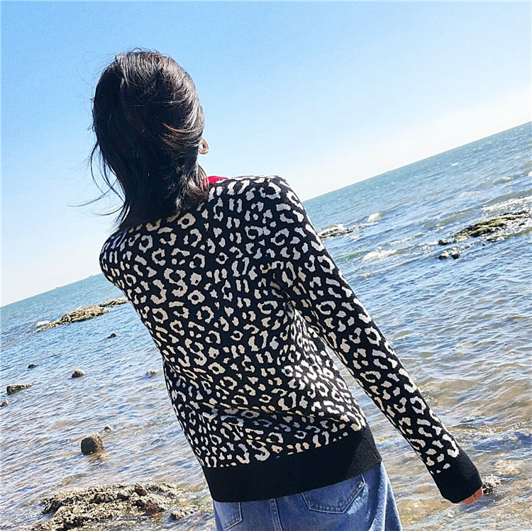 Women Sweaters Knitted Pull Filles