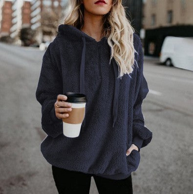 Hooded Pullover Sweater for Women