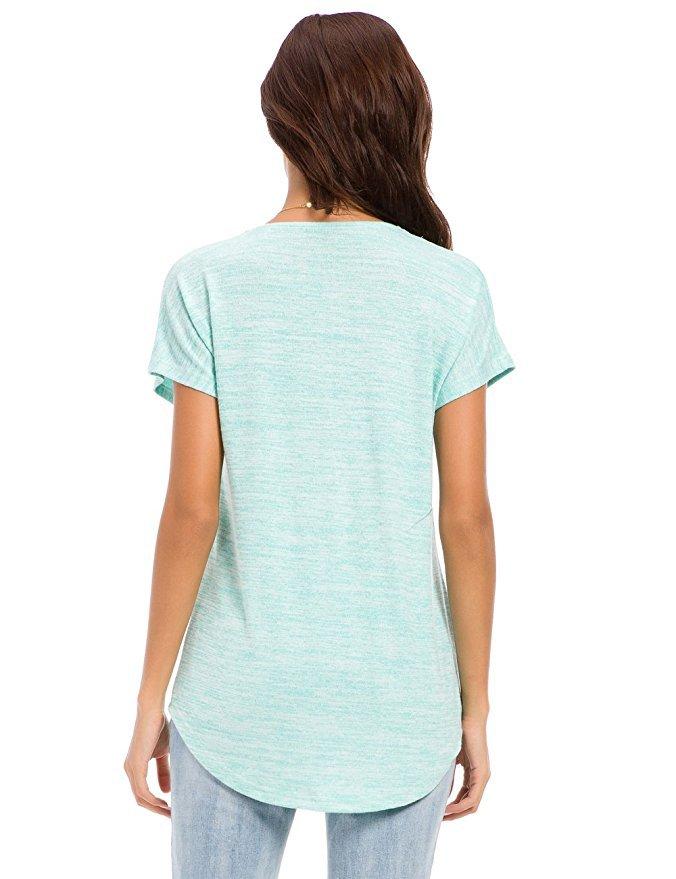Women Short Sleeve T-Shirts Cotton | T-shirt Femme Fille