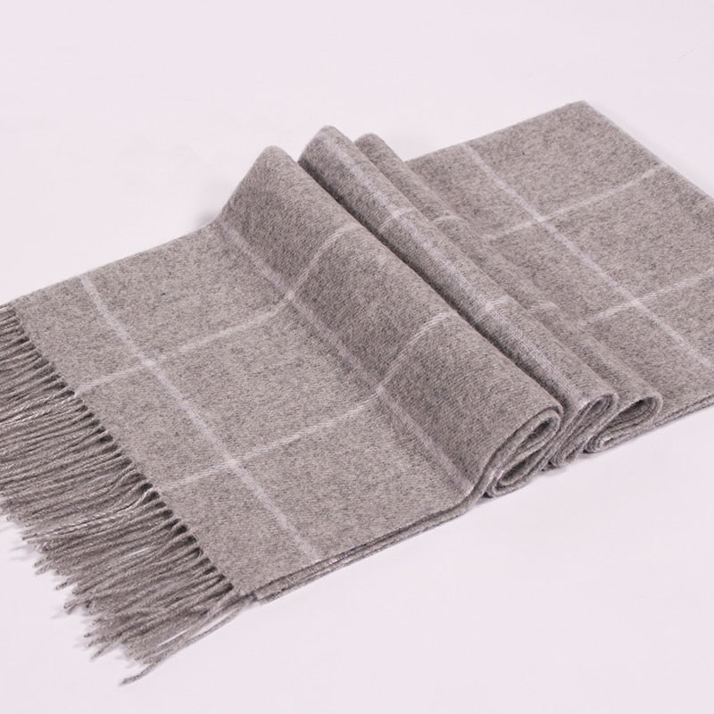 winter Men's cashmere Scarf extra large  Newest fashion design casual scarves luxury Brand High Quality Warm tasse Scarves men