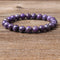 Fashion jewelry 6/8/10mm Charoite stones  loose beads Bracelet Charms Yoga Women meditation amulet