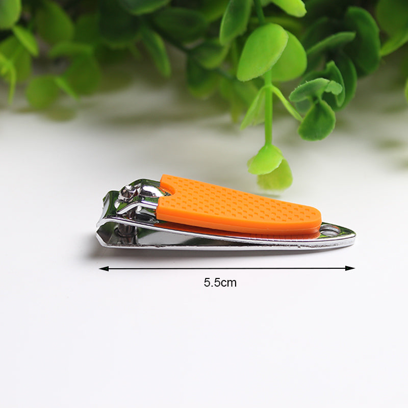 Silicone Nail Tips Clippers Stainless Steel Baby Nail Scissor Child Trimmer Manicure Toes Care Cuticle Cutter Tools